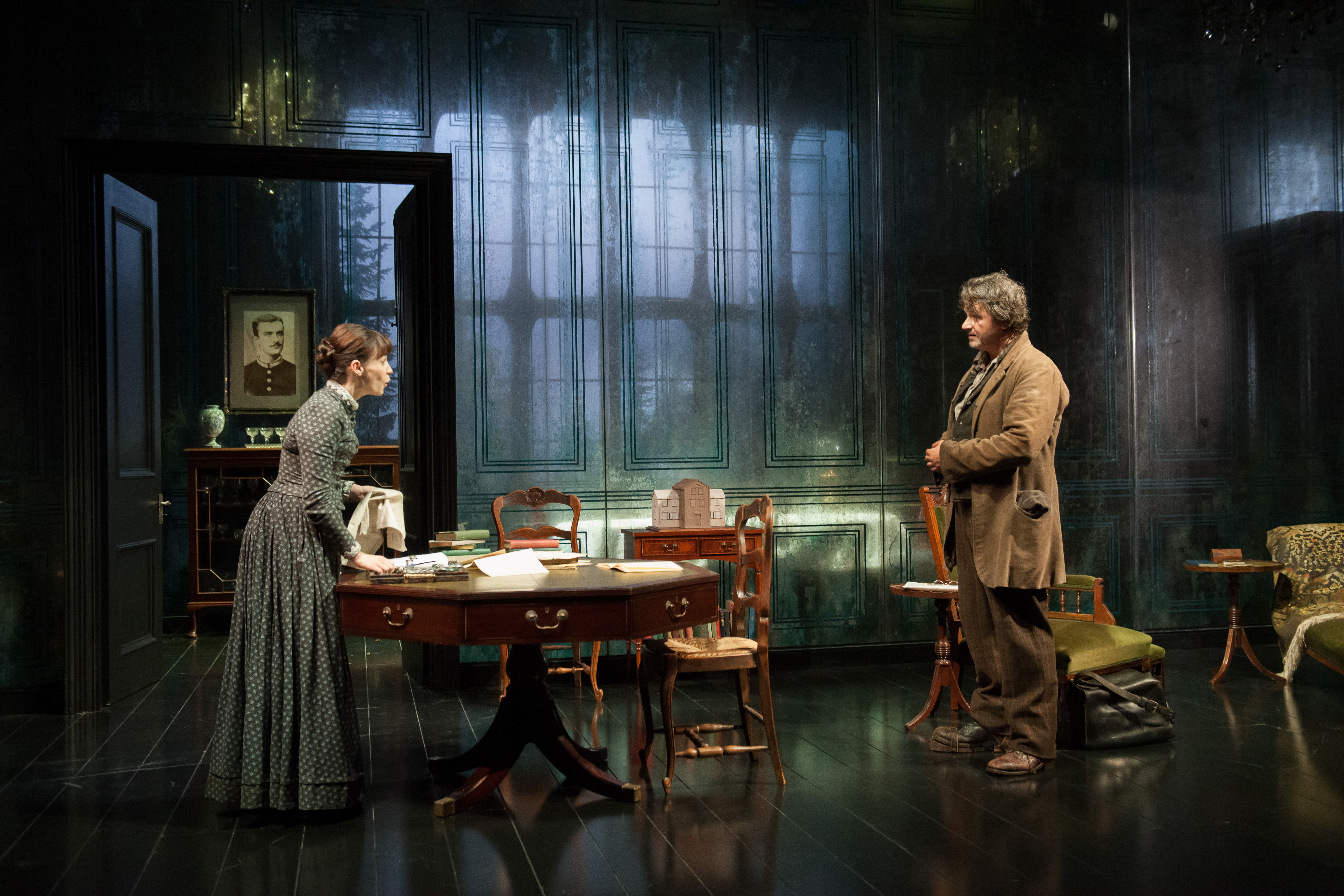 ibsens ghost In essence, the problems ibsen probes in a doll's house are the same as those of ghosts: the relation between past and future,.