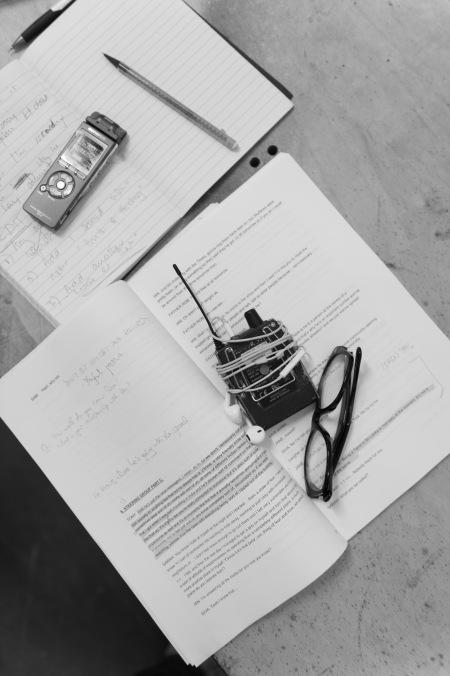 Rehearsal script