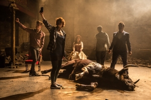 Carmen Disruption 319 - Jack Farthing, Katie West, Viktoria Vizin, Noma Dumezweni and John Light by Marc Brenner